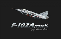 Американский истребитель-перехватчик F-102A (Case X) George Walker Bush
