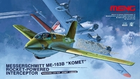 Истребитель с ракетным двигателем Messerschmitt Me163B  Komet