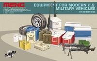 Аксессуары для современной техники США (коробки, канистры, колеса, оружие)