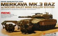 Танк Merkava Mk.3 BAZ w/Nochri Dalet Mine Roller System