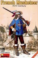 Французский мушкетер, XVII век