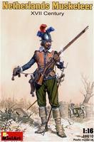 Голландский мушкетер, XVII век