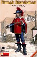 MA16011 Французский гвардеец, XVII век