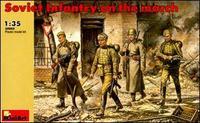 Советская пехота на марше