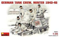 Немецкий танковый экипаж, зима 1943-1945