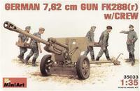 Германская пушка 76,2mm с расчетом FK288r