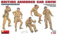 Британский экипаж бронеавтомобиля