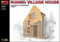 MA35520 Разрушенный деревенский дом