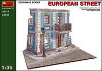 Фрагмент европейской улицы