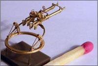 Lewis Mk II machine-gun on Scarf ring mount