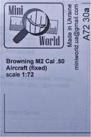 Станковый пулемёт системы Браунинг M2 кал.50 (fixed)