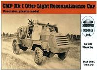 """Разведывательный автомобиль CMP Mk I """"Выдра""""  (содержит смоляные и РЕ-детали)"""