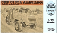 Грузовик скорой помощи CMP C15TA (содержит смоляные и РЕ-детали)