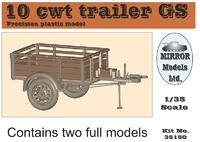 Прицеп CMP 10 cwt GS (в комплекте 2 модели)