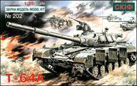 Cоветский боевой танк Т-64 А