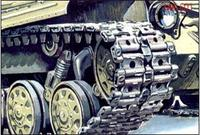 Траки для сборки гусениц танков Т-64А, Т-64Б, Т-64БВ.