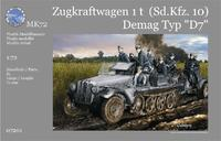 Германский полугусеничный тягач Sonder- Kfz. 10 Demag