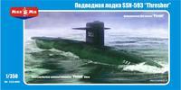 Американская атомная подводная лодка SSN-593 'Thresher'
