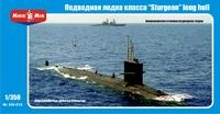 "Подводная лодка класса ""sturgeon"" long hull"