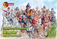 Фигурки шведских наемных драгунов, Тридцатилетняя война