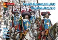Французские конные стражники королевских мушкетеров