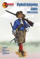 Польская пехота конца XVII векa