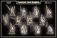 Тевтонские пешие рыцари (I пол.XV в)