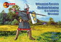 Литовско-русская пехота, 1-я половина XV века