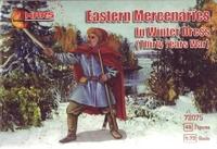 Восточные наемники в  зимней одежде (Тридцатилетняя война)