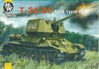 MW7210 T-34-85 NVA type 63 Soviet WWII medium tank