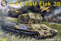 Самоходная зенитная установка ЗСУ-38 на базе танка T-34