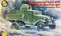 Бронемашина на базе автомобиля ГАЗ-АА с пулеметом «Максим»