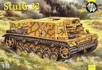 Модель немецкой САУ StuIG 33