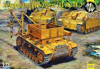 БРЭМ Bergepanzerwagen III Ausf. J