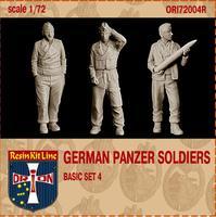 Немецкие танкисты (смола)