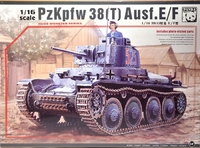 Чешский танк Pz.Kpfw. 38(t) Ausf. E/F