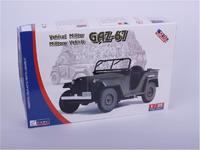 Модель автомобиля ГАЗ-67