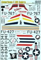 Декаль для самолета F-86E Sabre, Part 2