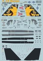 Декаль для истребителя F-18 Hornet Part 2
