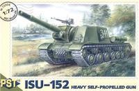 Сборная модель самоходной артиллерийской установки ИСУ-152