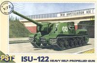 Масштабная модель самоходной артиллерийской установки ИСУ-122