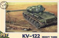 Пластиковая модель танка КВ-122
