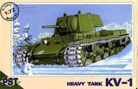 Сборная модель советского танка КВ-1