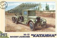 Сборная модель Катюша М-13