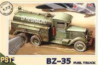 Пластиковая модель топливозаправщика БЗ-35
