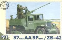 PST72033 ZiS-42 with 37mm AA SP gun