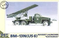 PST72041 BM-13N(US 6) 'Katjusha' Soviet launcher