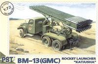 PST72042 BM-13(GMC) 'Katjusha' Soviet launcher