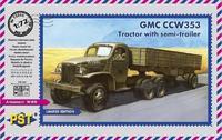 GMC CCW-353 с полуприцепом