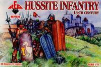 Фигурки Гуситских пехотинцев 15-го века